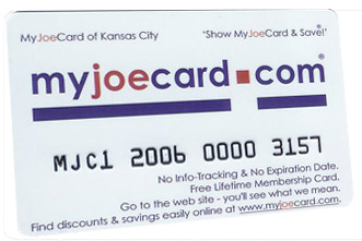 The New MyJoeCard for Tulsa - Best Consumer Value in the Tulsa area!