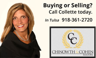 Your Tulsa Realtor - Call Collette Santine to buy or sell a home in Greater Tulsa, OK.